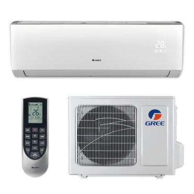 Gree VIR09HP230V1B - 9,000 BTU 23 SEER VIREO+ Wall Mount Ductless Mini Split Air Conditioner Heat Pump 208-230V