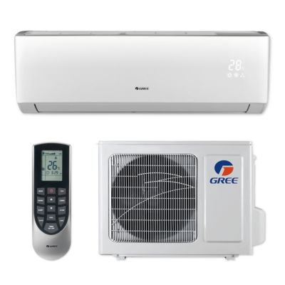 Gree VIR12HP115V1B - 12,000 BTU 22 SEER VIREO+ Wall Mount Ductless Mini Split Air Conditioner Heat Pump 115V