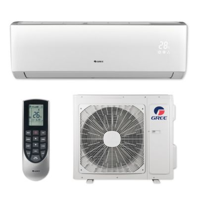 Gree VIR12HP230V1B - 12,000 BTU 22 SEER VIREO+ Wall Mount Ductless Mini Split Air Conditioner Heat Pump 208-230V
