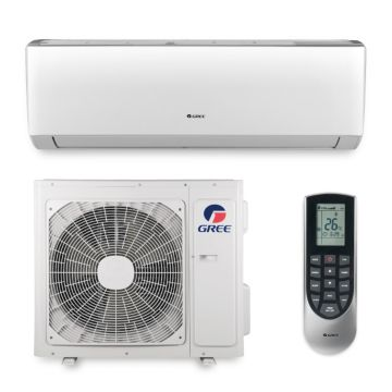 Gree VIR18HP230V1A - 18,000 BTU 20 SEER VIREO Wall Mount Ductless Mini Split Air Conditioner Heat Pump 208-230V