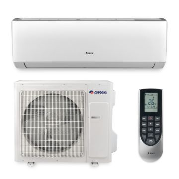 Gree VIR24HP230V1A - 24,000 BTU 20 SEER VIREO Wall Mount Ductless Mini Split Air Conditioner Heat Pump 208-230V