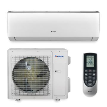 Gree VIR36HP230V1A - 36,000 BTU 18 SEER VIREO Wall Mount Ductless Mini Split Air Conditioner Heat Pump 208-230V