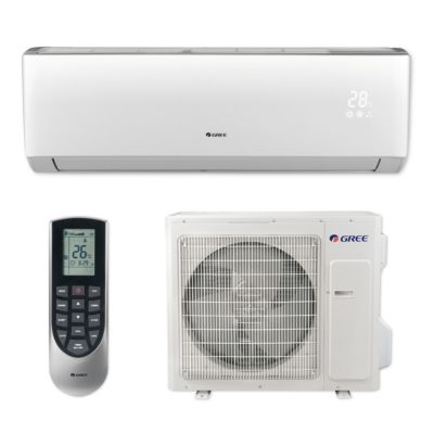 Gree VIR36HP230V1B - 36,000 BTU 18 SEER VIREO+ Wall Mount Ductless Mini Split Air Conditioner Heat Pump 208-230V