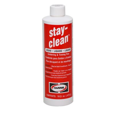 Harris SCLF16 - Stay Clean Liquid Flux - 16 Oz