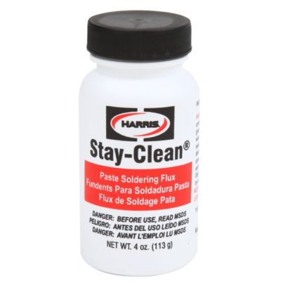 Harris SCPF4 - Stay Clean Paste Flux - 4 Oz