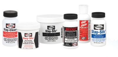 Harris SSWF1 - Stay-Silv All Purpose White Brazing Flux - 1 lb. Jar