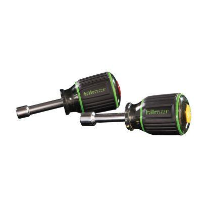 """Hilmor 1839057 - SHSM2PC Magnetic Nut Driver 2PC Set with 1-1/2"""" Shaft"""