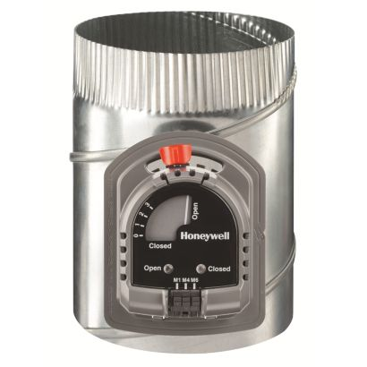 "Honeywell ARD6TZ/U- TrueZONE 6"" Round Automatic Supply Damper"