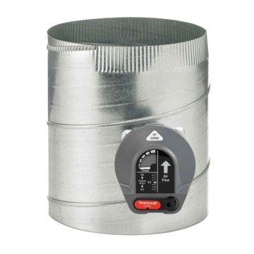 "Honeywell CPRD10 - Constant Pressure Regulating Bypass Damper, 10"" Round"