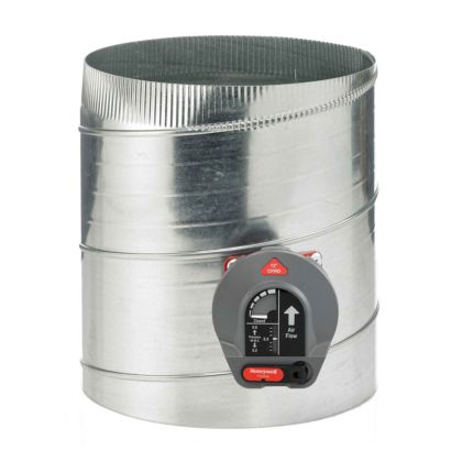 "Honeywell CPRD12 - Constant Pressure Regulating Bypass Damper, 12"" Round"