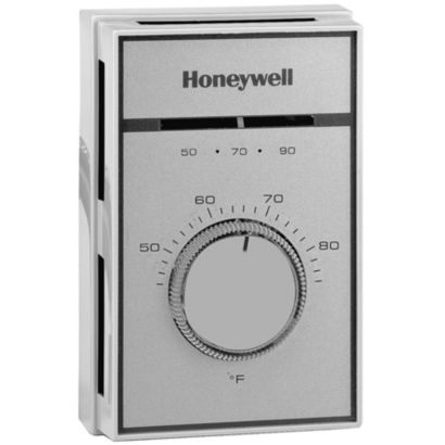 Honeywell T451A3005 - Range 44-86F. with Thermometer, Locking Cover and Range Stops