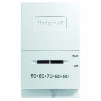 Honeywell T822K1000/U - Low-Vheat Thermostat, Mercury-Free