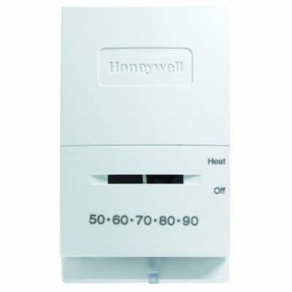 Honeywell T822K1000 - Low-Vheat thermostat, mercury-free