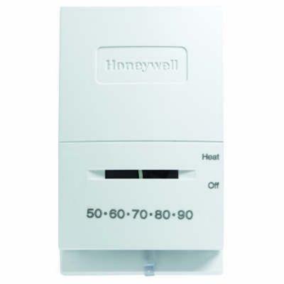 Honeywell T827K1009/U - Vertical Thermostat, Heat-Only