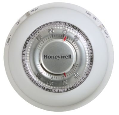 Honeywell T87N1000/U - Round™ Thermostat for Heat/Cool Control Manual
