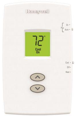 Honeywell TH1110DV1009/U - PRO 1000 Vertical Non-Programmable Thermostat 1 Heat/1 Cool