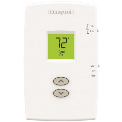 Honeywell TH1110DV1009 - PRO 1000 Non-Programmable Vertical Thermostat 1 Heat/1 Cool