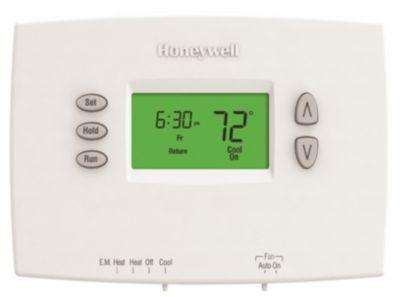 Honeywell TH2210DH1000/U - PRO 2000 Heat Pump Programmable 2Heat/1Cool, Horizontal