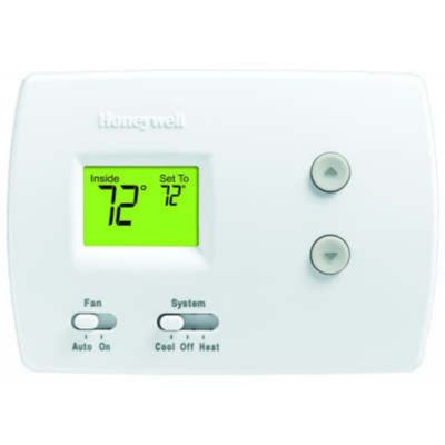 Honeywell TH3110D1008/U - PRO Non-Programmable Digital Thermostat, 1H/1C for Conventional and Heat Pump