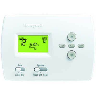 Honeywell TH4110D1007/U - Programmable 5-2 Day Thermostat for Heat/Cool or Heat Pump without Auxiliary Heat