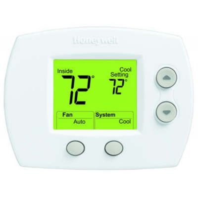 Honeywell TH5110D1006/U - FocusPRO 5000 Non-Programmable Thermostat (GE/HP: 1H/1C)