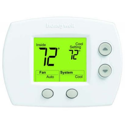Honeywell TH5110D1022/U - FocusPRO 5000 Non-Programmable Thermostat (GE: 2H/2C HP: 3H/2C)