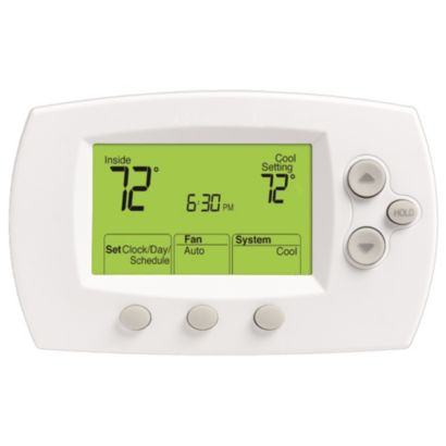Honeywell TH6110D1005 - Standard-size display programmable thermostat, 1H/1C