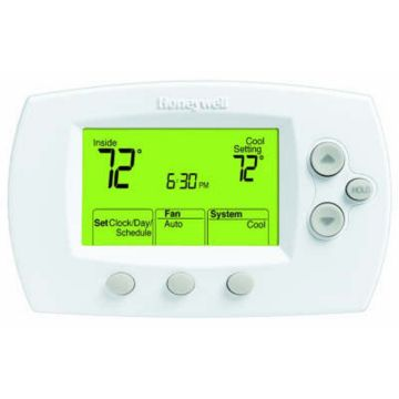 Honeywell TH6110D1021 - Large-size display programmable thermostat for 1H/1C