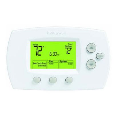 Honeywell TH6320U1000/U - Digital Programmable Thermostat for 3H/2C (Heat Pump) or 2H/2C (Conventional)