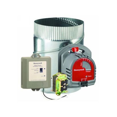 Honeywell Y8150A1017 - Fresh Air Ventilation System w/ TureZONE dampier.