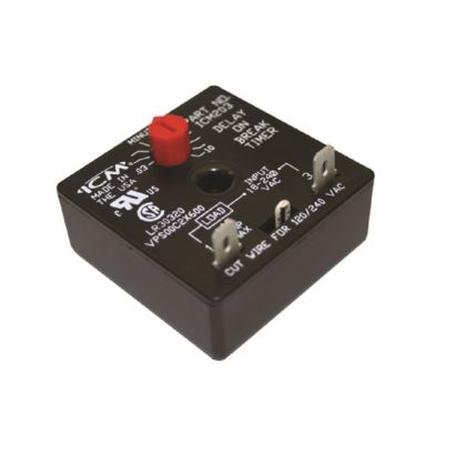 ICM Controls ICM203F - Delay-on-Break Timer with . 03-10 minute Adjustment time delay