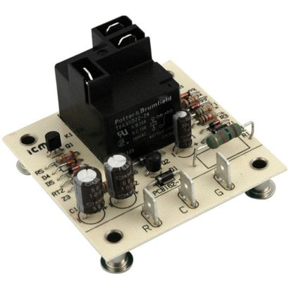 ICM Controls ICM255 - Open Board, Dual Function Fan Delay Timer