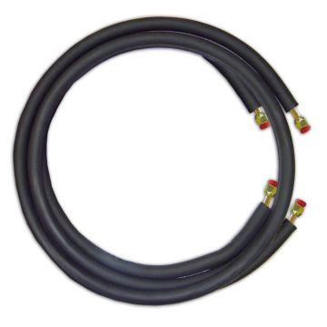 """JMF LS1438FF15W - 15' Mini Split Ready Connect Line Set: 1/4"""" Liquid Line, 3/8"""" Suction Line, 14-4 Connect Wire"""