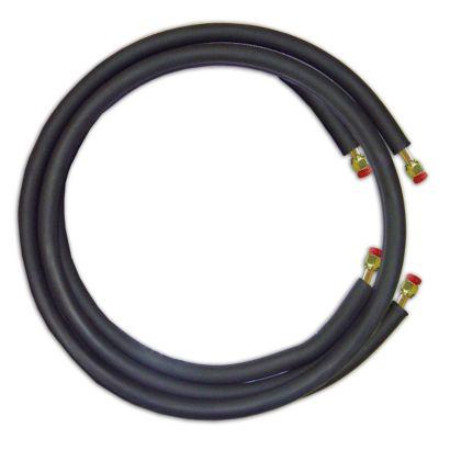 """JMF LS1412FF25W - 25' Mini Split Ready Connect Line Set: 1/4"""" Liquid Line, 1/2"""" Suction Line, 14-4 Connect Wire"""