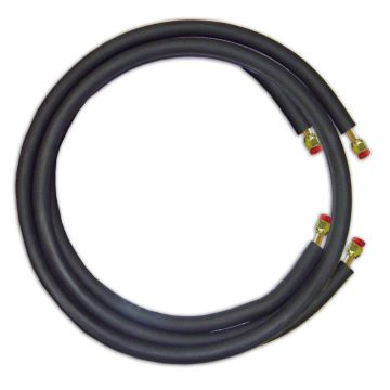 "JMF LS1412FF75W - 75' Mini Split Ready Connect Line Set: 1/4"" Liquid Line, 1/2"" Suction Line, 14-4 Connect Wire"