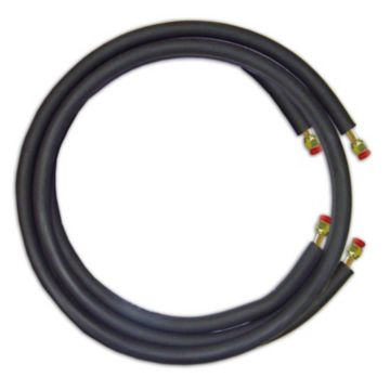 """JMF LS3858FF35W - 35' Mini Split Ready Connect Line Set: 3/8"""" Liquid Line, 5/8"""" Suction Line, 14-4 Connect Wire"""