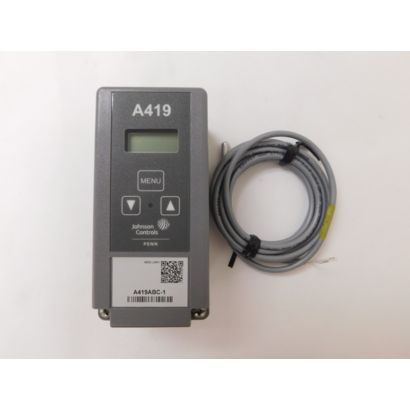 Johnson Controls A419ABC-1C - Line Vage, NEMA 1 Enclosure Electronic Temperature Control with Display
