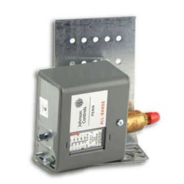 Johnson Controls P170AA-118C - Pressure Control; 100/400# PSIG 5 Bu Differential. Adjustment 35/200# PSI