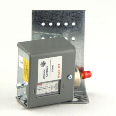 """Johnson Controls P170AB-12C - Pressure Control; 12"""" 80 PSIG 5 Bu Differential Adjustment 5/35/PSI"""