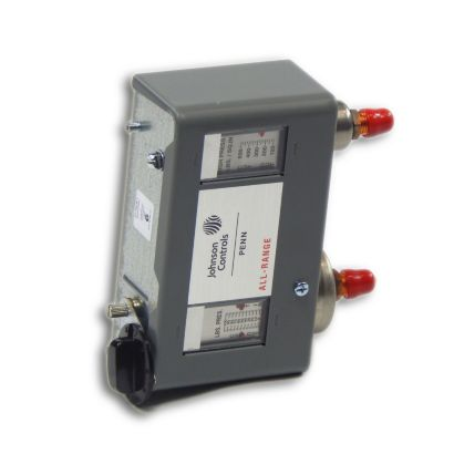 "Johnson Controls P170LB-1C - Dual Pressure Control; 20""/100 PSIG lbs 5 Bu Range 100/425 PSIG HS;"
