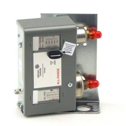 Johnson Controls P170MA-1C - Dual Pressure Control; Manual Reset Hs
