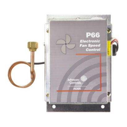 "Johnson Controls P66AAB-1C - Single Input Sensor Model Pressure Actuated Motor Speed Controller 190-250 PSIG, 60"" Capillary"