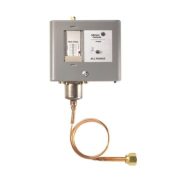 Johnson Controls P70AA-118C - High Pressure/Condenser Fan Cycling Control