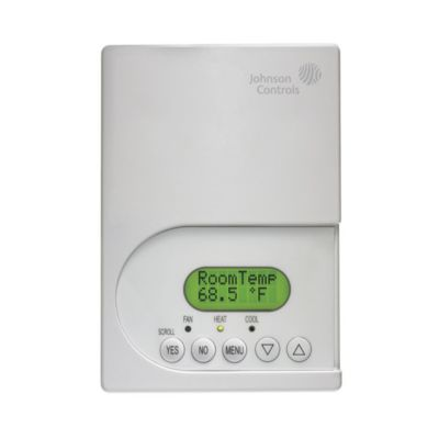 Johnson Controls T600HPN-4 - Stand Alone; Heat Pump 3 Heat / 2 Cool; Non-Programmable
