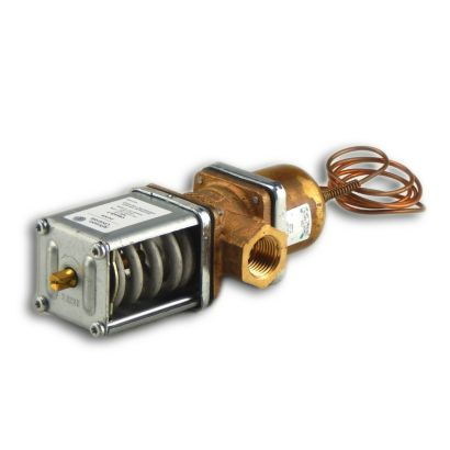 """Johnson Controls V46AB-1C - Commercial Water Regulating Valve; 1/2"""" Threaded 70/260# All Range"""