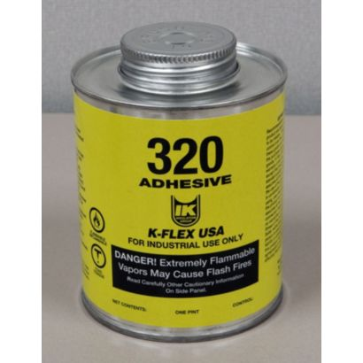 K-Flex 800-320-PTB - 320 Contact Adhesive, Pint, Brush Top