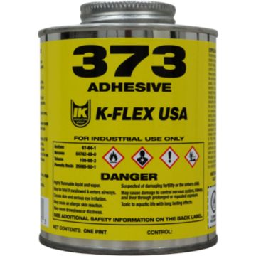 K-Flex 800-373-PTB - 373 Solvent Based Contact Adhesive, Pint, Brush Top