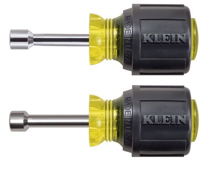 "Klein Tools 610-5/16 - 5/16"" Cushion-Grip Stubby Nut Driver - 1-1/2""-Shank"