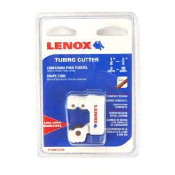 """Lenox 21008TC58 - 1/8"""" (3mm) - 5/8"""" (16mm) Tubing Cutter"""