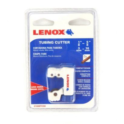 "Lenox 21008TC58 - 1/8"" (3mm) - 5/8"" (16mm) Tubing Cutter"